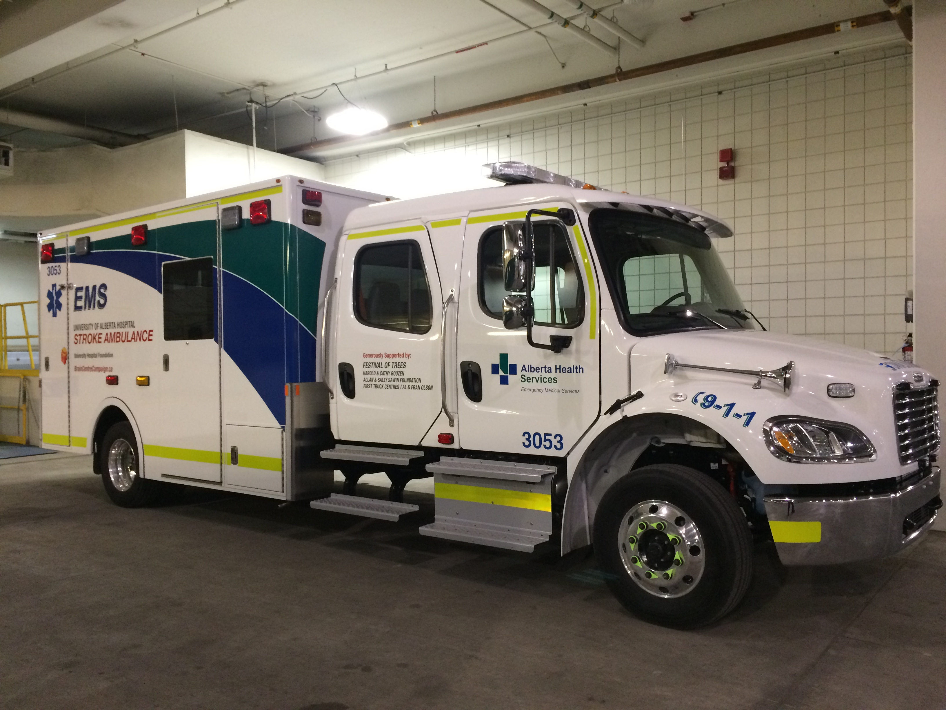 Sprinter Van Mobile Home >> Stroke Ambulance | Alberta Health Services