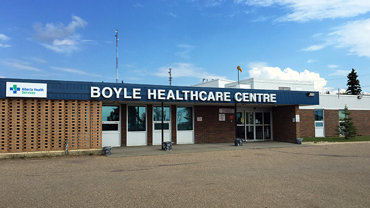 Reno completed for Boyle Healthcare Centre